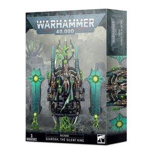 Games Workshop Warhammer 40k: Necrons - Szarekh, The Silent King