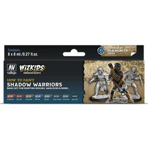 Vallejo Wizkids Paints Set: Shadow Warriors (8 colors)