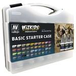 Vallejo Wizkids Paints Case: Basic Starter (40 colors)