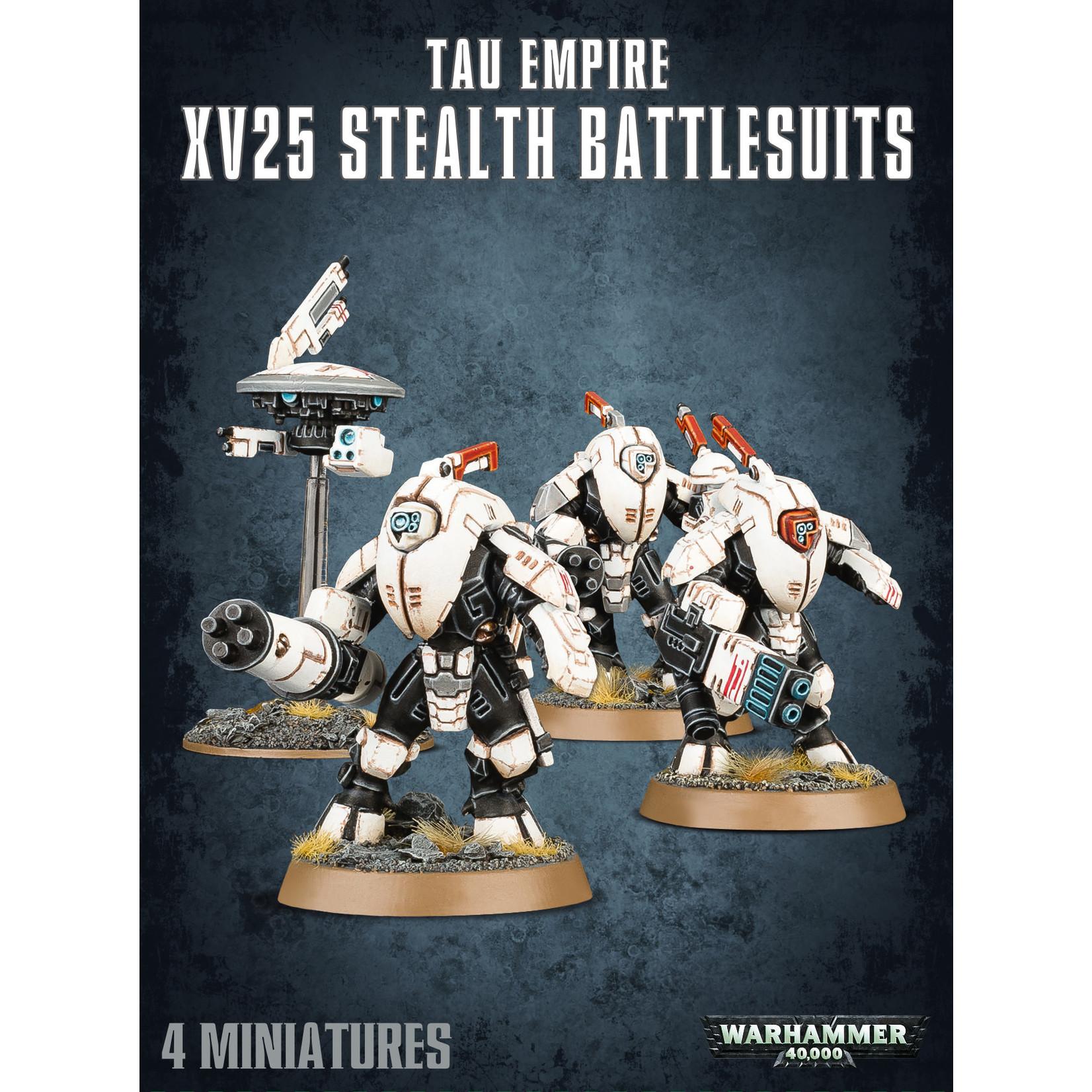 Games Workshop Warhammer 40k: Tau Empire - XV25 Stealth Battlesuits