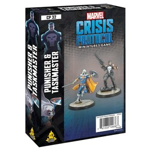 Asmodee Editions Marvel Crisis Protocol: Punisher and Taskmaster Character Pack