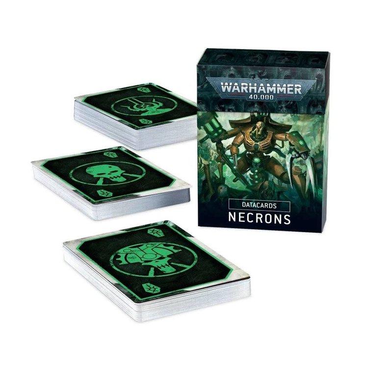 Games Workshop Warhammer 40k: Necrons - Datacards (9th Ed)
