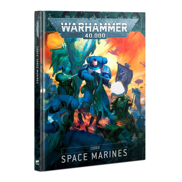 Games Workshop Warhammer 40k: Space Marines - Codex (New 9th Ed)