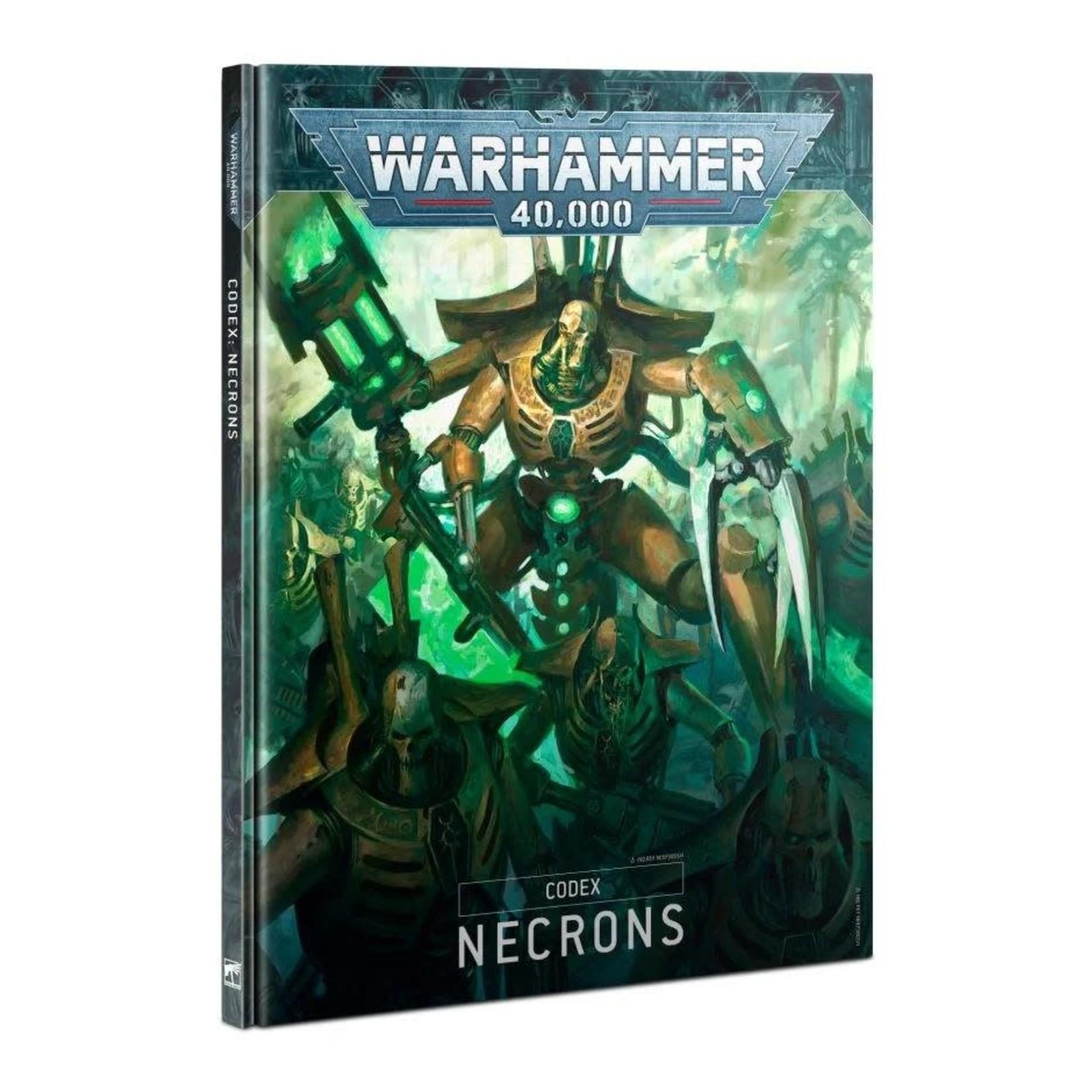 Games Workshop Warhammer 40k: Necrons - Codex (9th Ed)
