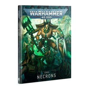 Games Workshop Warhammer 40k: Necrons - Codex (9th Ed)