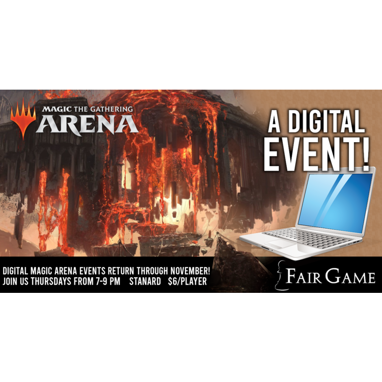 Fair Game Admission: Magic Arena Standard Event 23 (November 5)