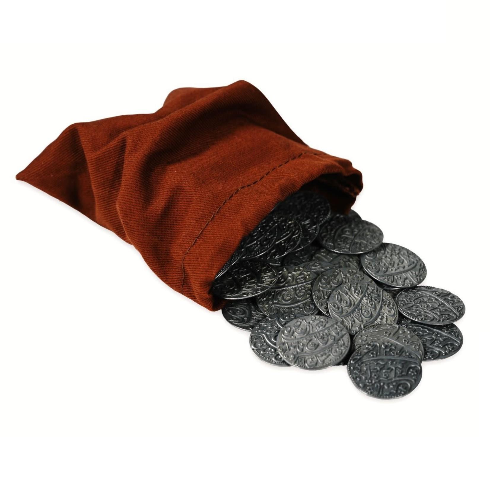 Wehrlegig Games Pax Pamir: Metal Coins and Cloth Bag