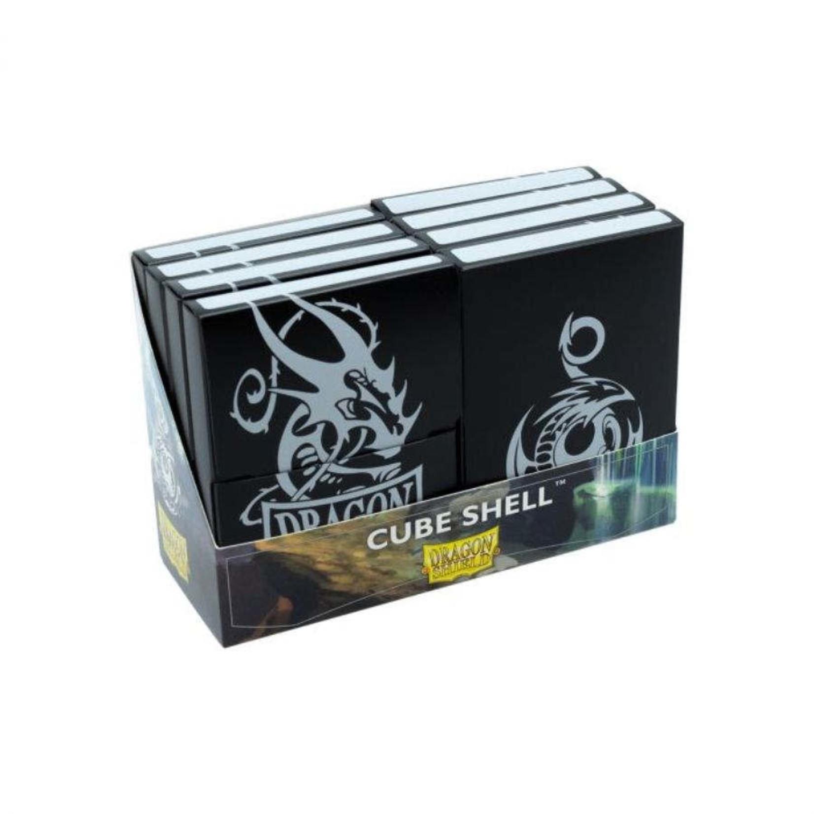 Arcane Tinman Dragon Shield: Cube Shell (8) - Black