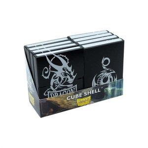 Arcane Tinman Dragon Shield: Cube Shell (8) - Black