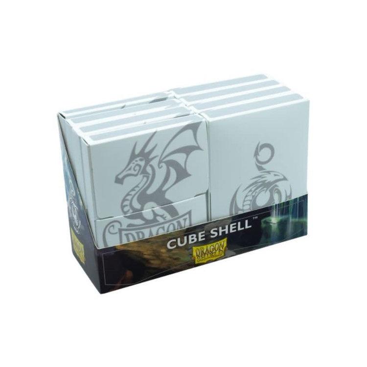 Arcane Tinman Dragon Shield: Cube Shell (8) - White