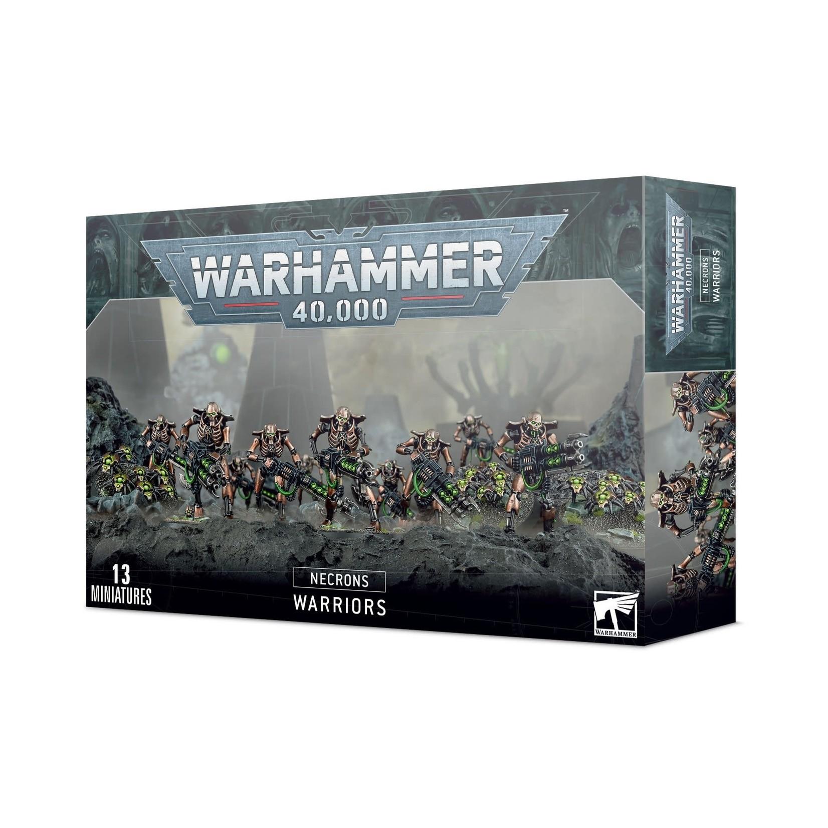 Games Workshop Warhammer 40k: Necron Warriors
