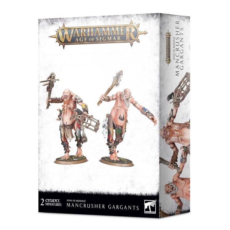 Games Workshop Warhammer Age of Sigmar: Sons of Behemat - Mancrusher Gargants