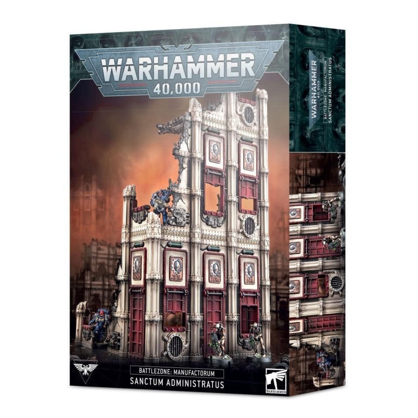 Games Workshop Warhammer 40k: Battlezone Terrain - Manufactorum Sanctum Administratus