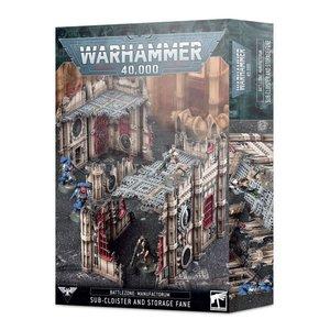 Games Workshop Warhammer 40k: Battlezone Terrain - Manufactorum Sub-Cloister & Storage