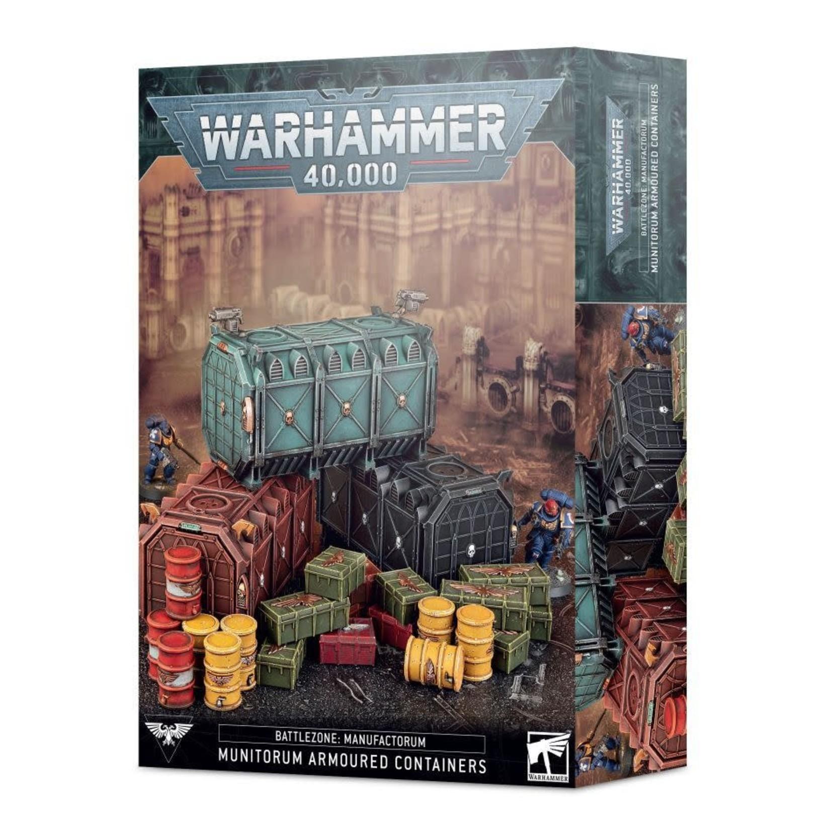 Games Workshop Warhammer 40k: Battlezone Terrain - Munitorum Armoured Container