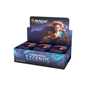 Wizards of the Coast Magic the Gathering: Commander Legends - Draft Booster Box