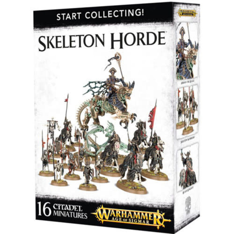 Games Workshop Warhammer Age of Sigmar: Start Collecting! Skeleton Horde
