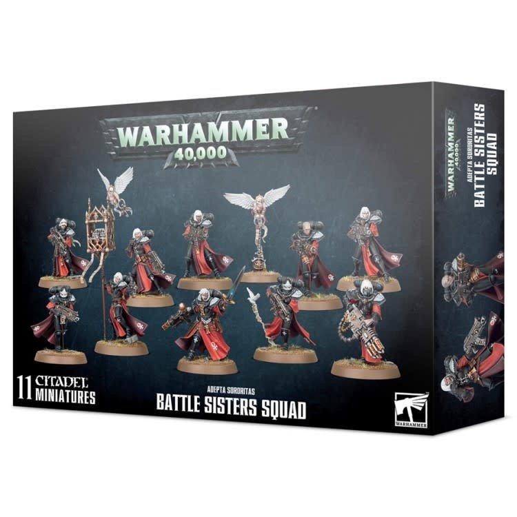 Games Workshop Warhammer 40k: Adepta Sororitas - Battle Sisters Squad