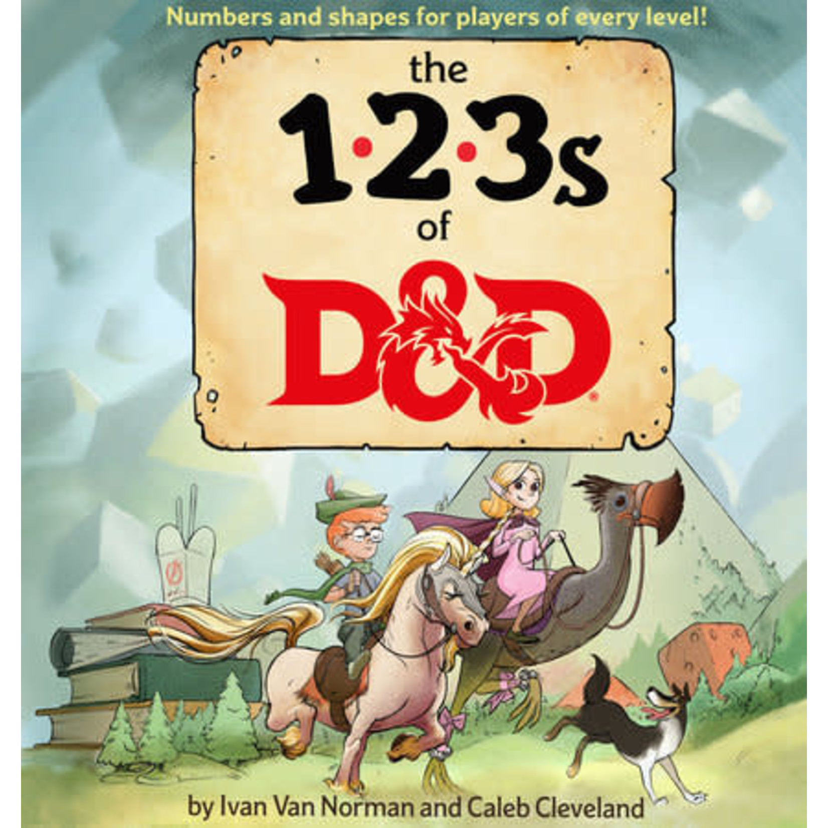 Random House Dungeons and Dragons: The 123s of D&D