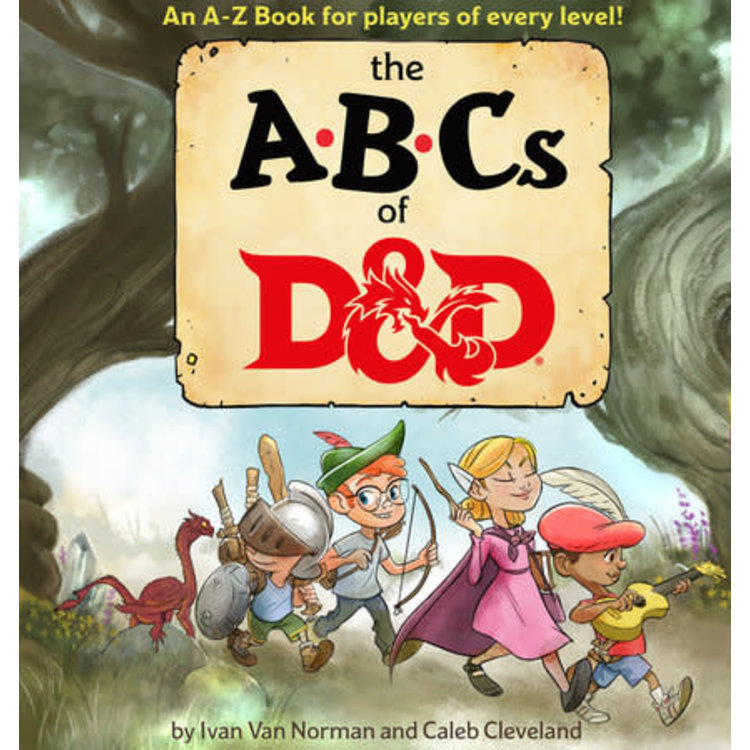 Random House Dungeons and Dragons: The ABCs of D&D