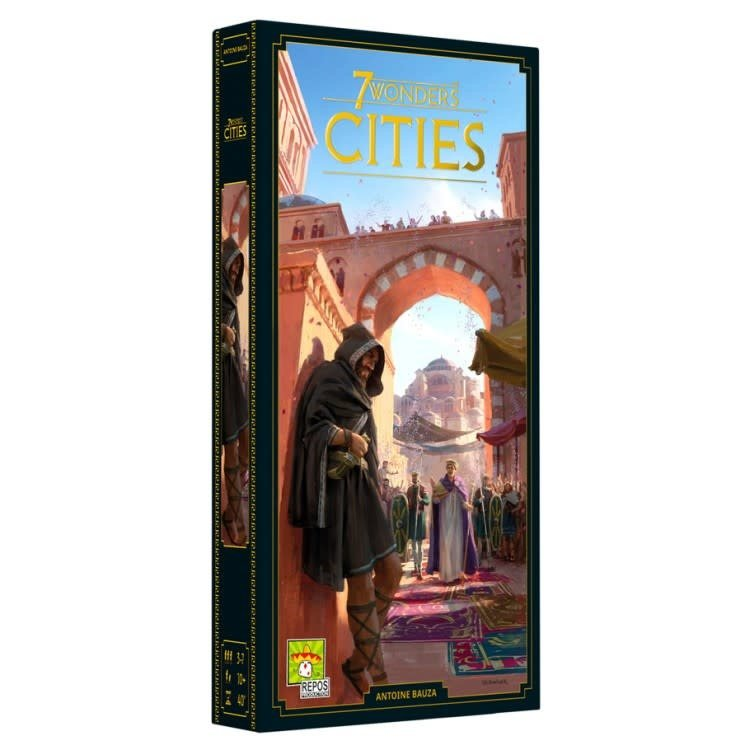 Asmodee Editions 7 Wonders: Cities Expansion (New)