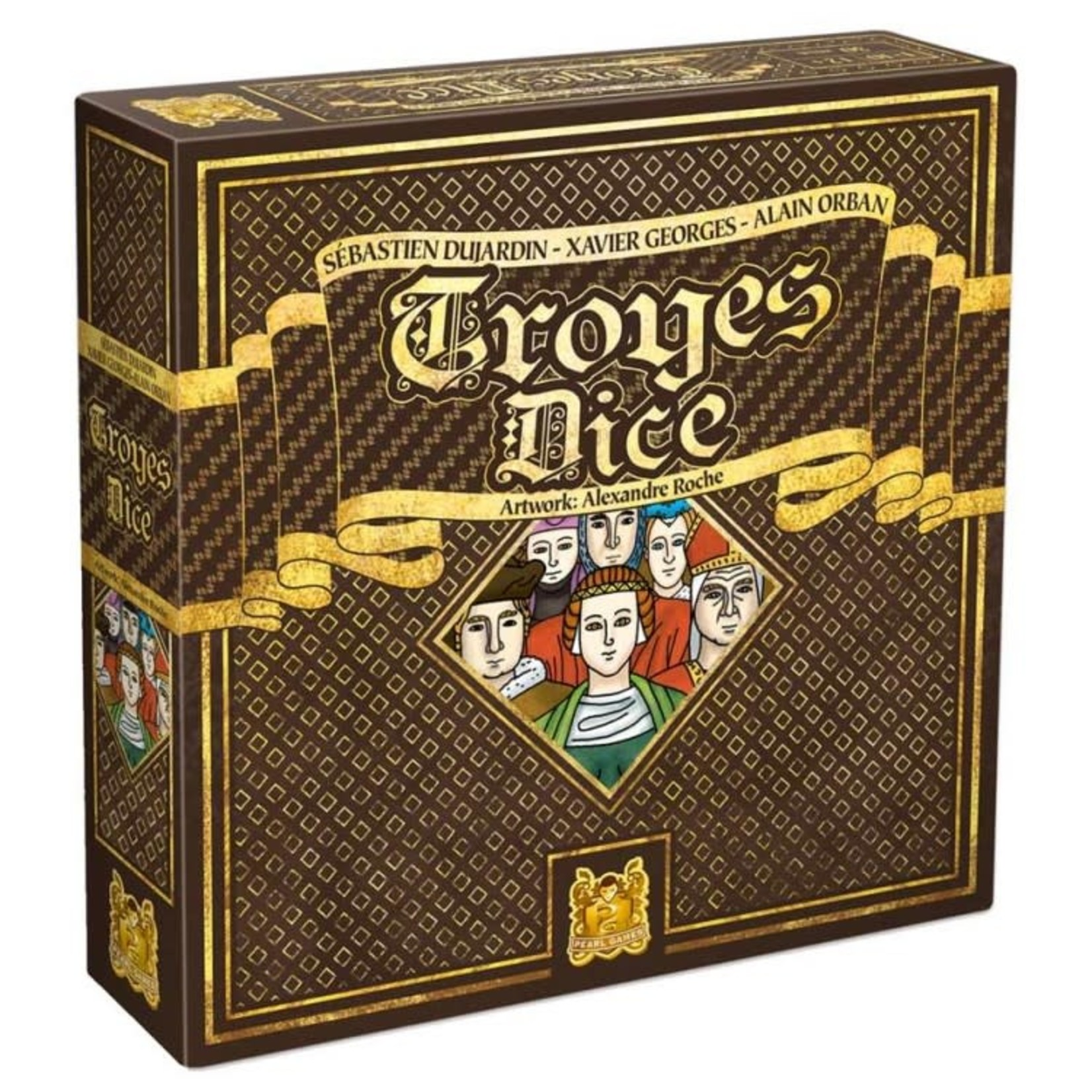 Asmodee Editions Troyes Dice