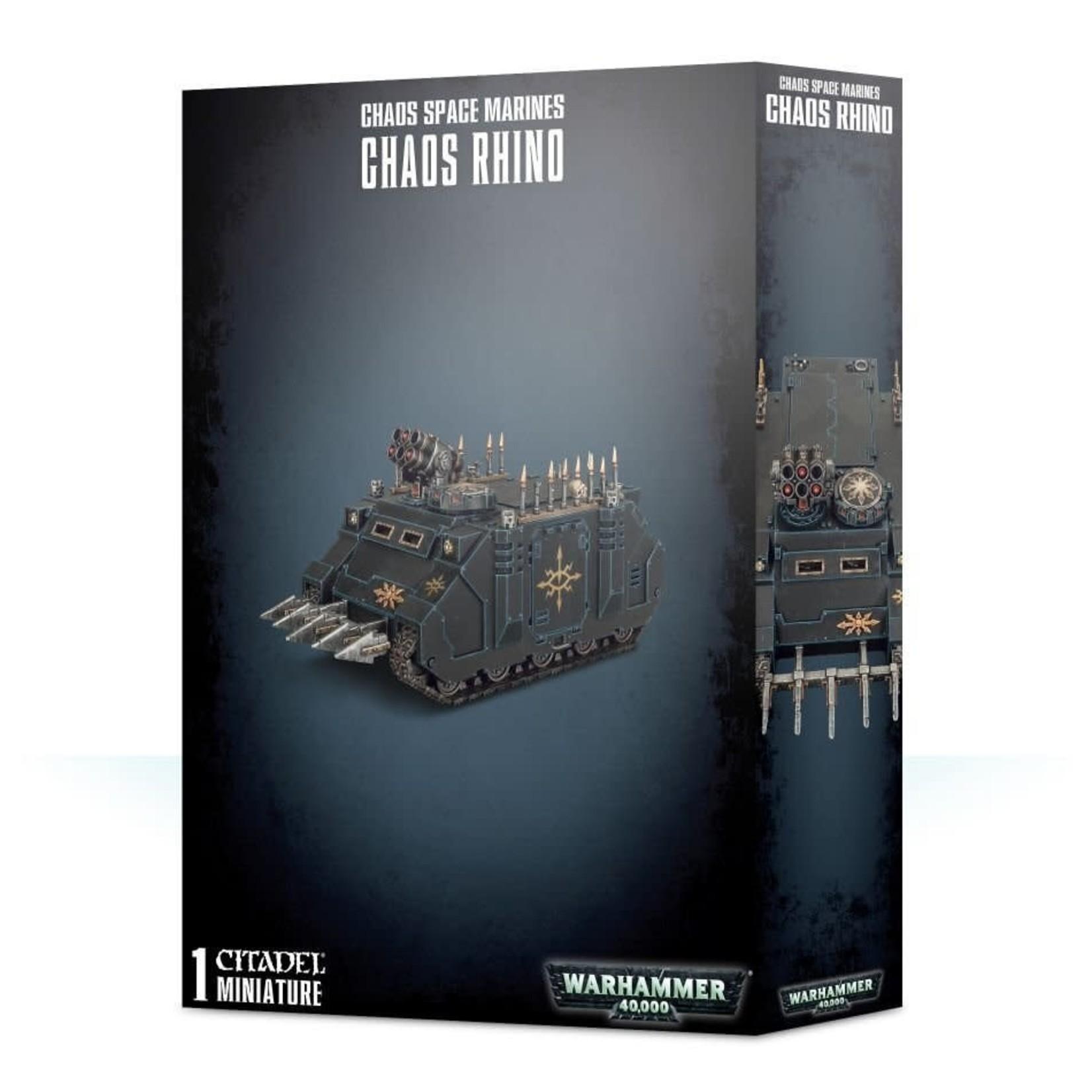 Games Workshop Warhammer 40k: Chaos Space Marines - Chaos Rhino