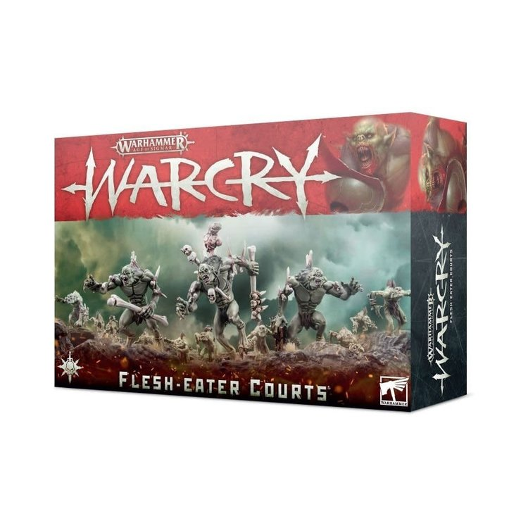 Games Workshop Warhammer Age of Sigmar: Warcry - Flesh-Eater Courts