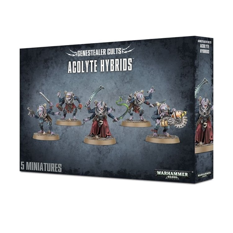 Games Workshop Warhammer 40k: Genestealer Cults - Acolyte Hybrids/Hybrid Metamorphs