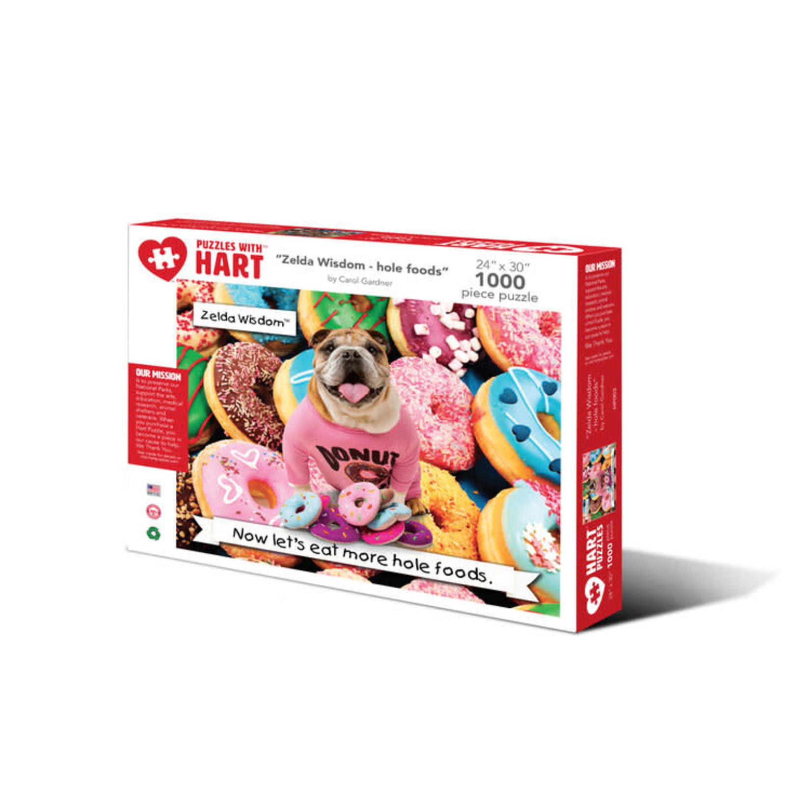 Hart Puzzles Hart Puzzles: Hole Foods 1000pc