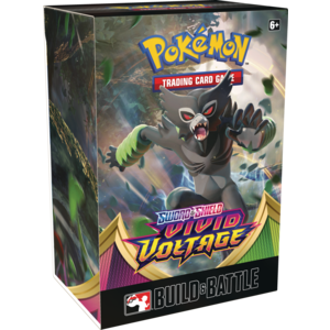 Pokemon International Pokemon Trading Card Game: Vivid Voltage Prerelease Kit
