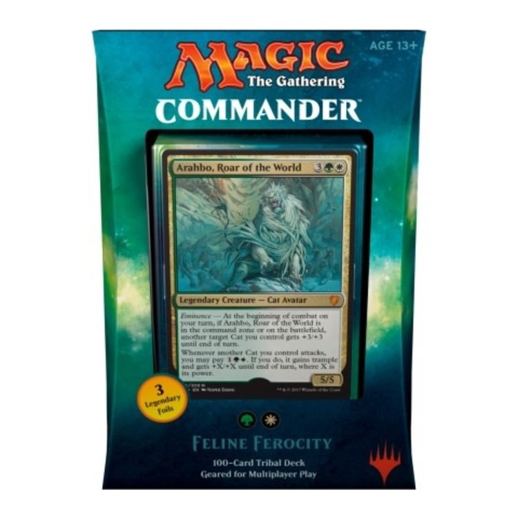 Wizards of the Coast MTG Commander 2017: Feline Ferocity