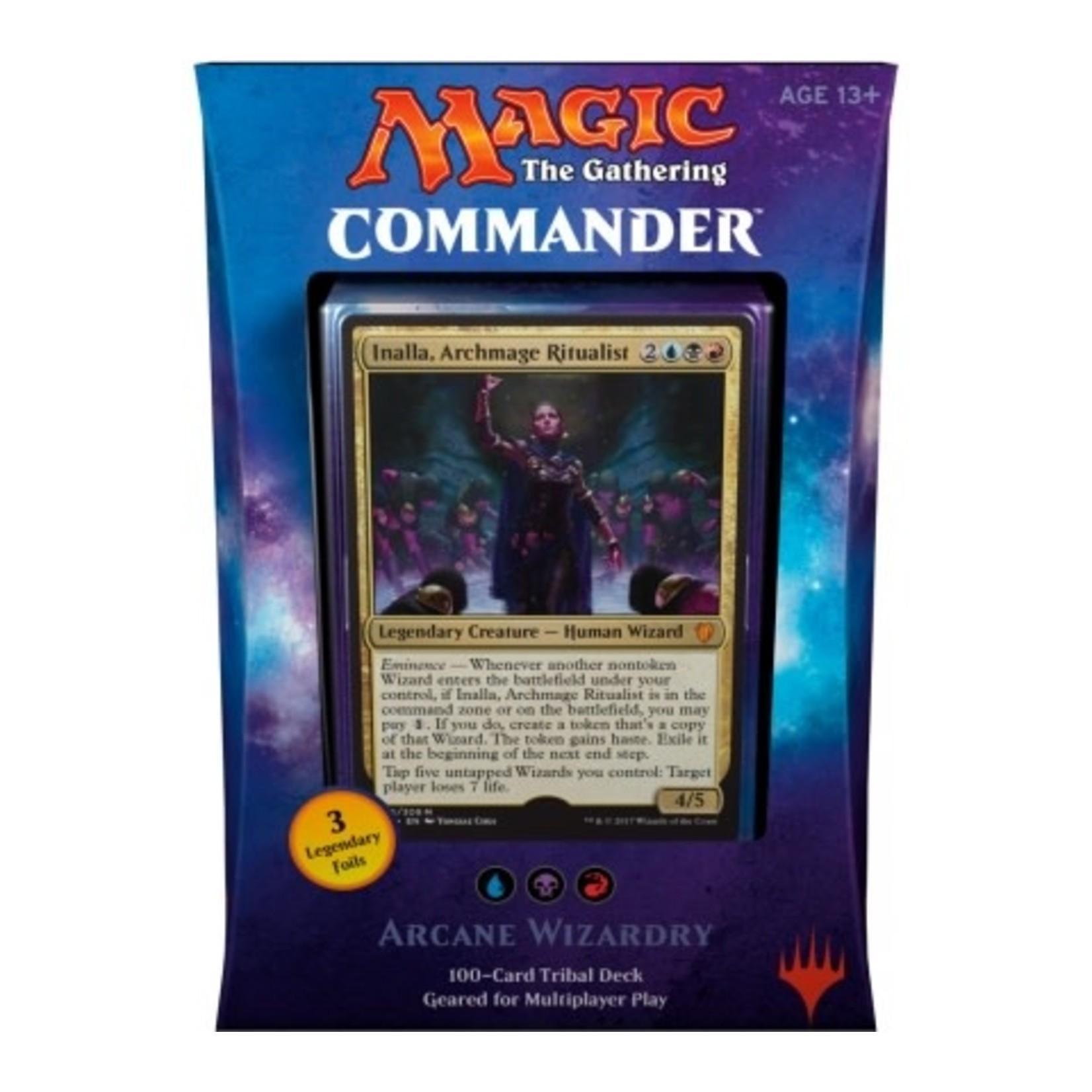 Wizards of the Coast MTG Commander 2017: Arcane Wizardry
