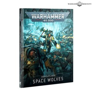Games Workshop Warhammer 40k: Space Wolves - Codex Supplement