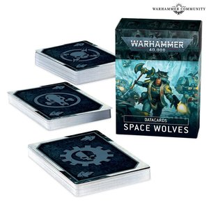 Games Workshop Warhammer 40k: Space Wolves - Datacards