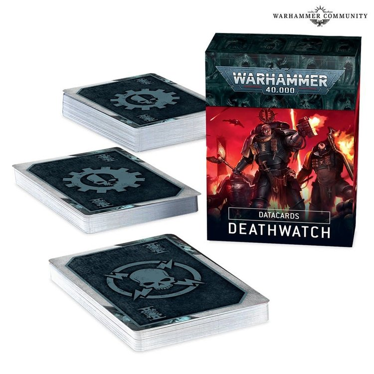 Games Workshop Warhammer 40k: Deathwatch - Datacards