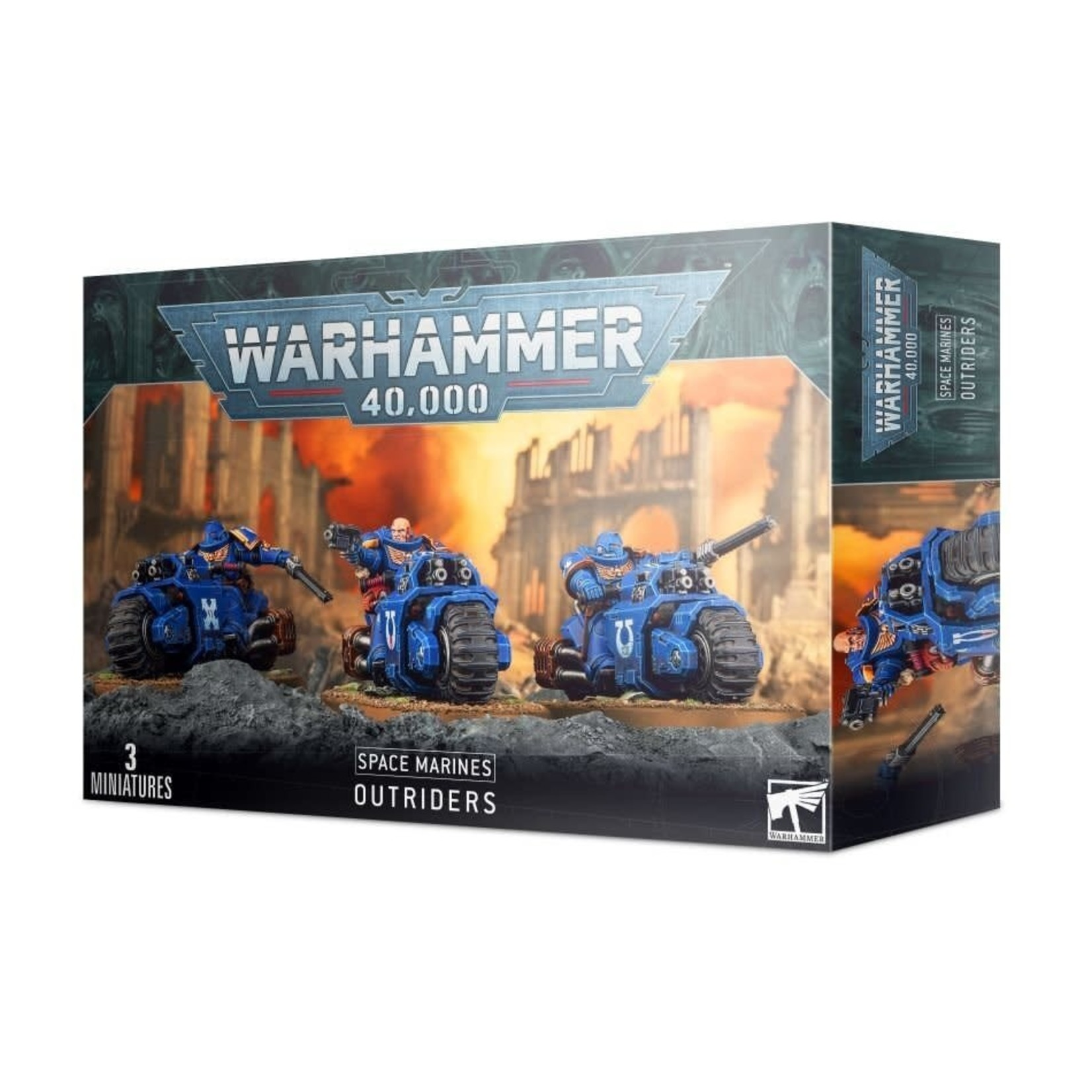 Games Workshop Warhammer 40k: Space Marines - Outriders