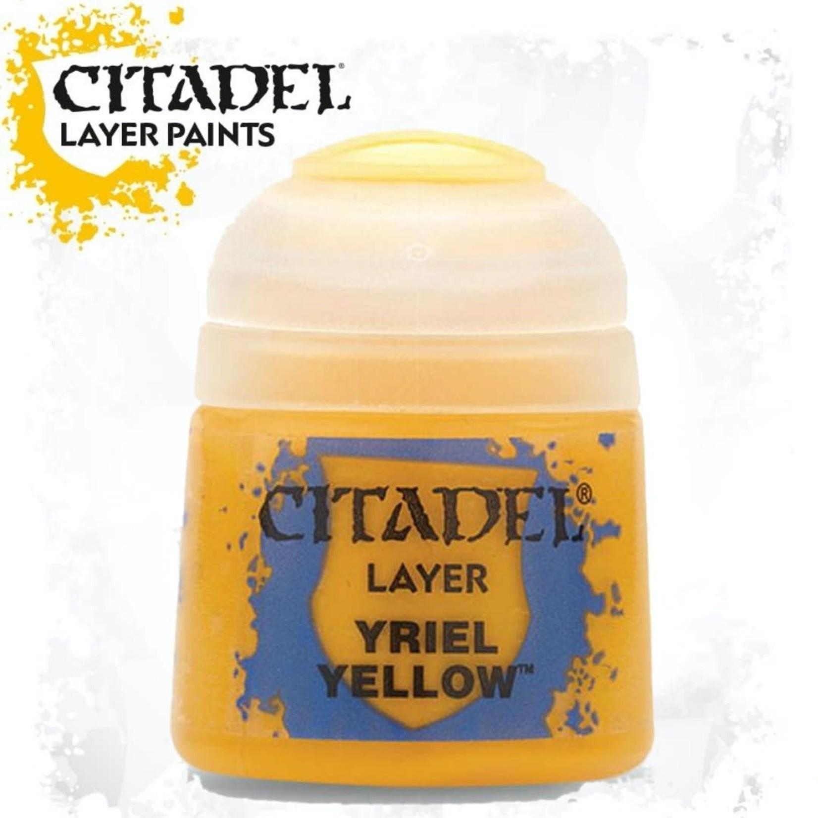 Citadel Citadel Paint - Layer: Yriel Yellow