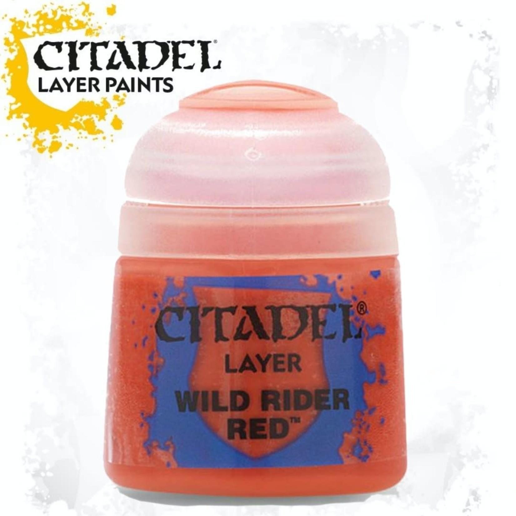 Citadel Citadel Paint - Layer: Wild Rider Red