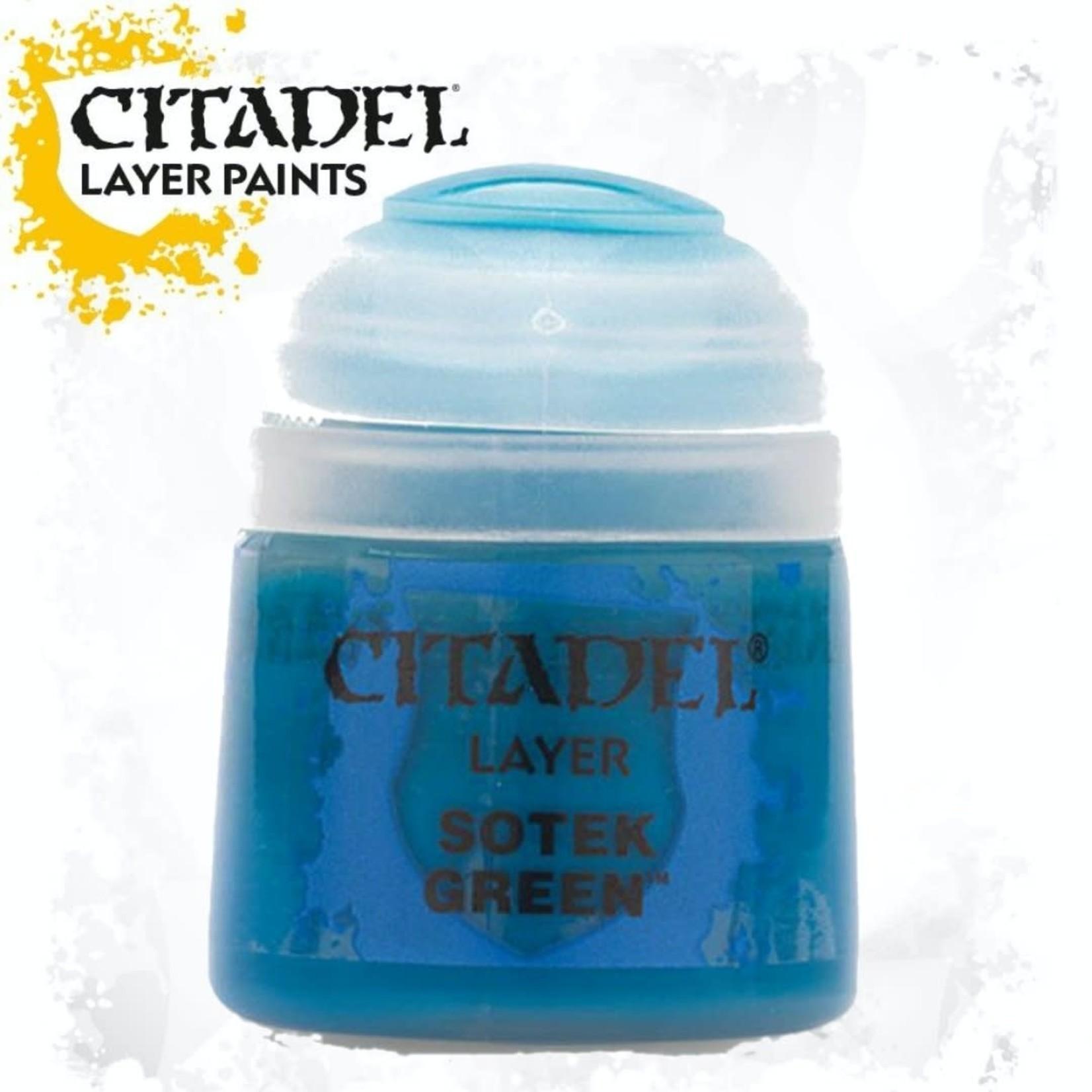 Citadel Citadel Paint - Layer: Sotek Green