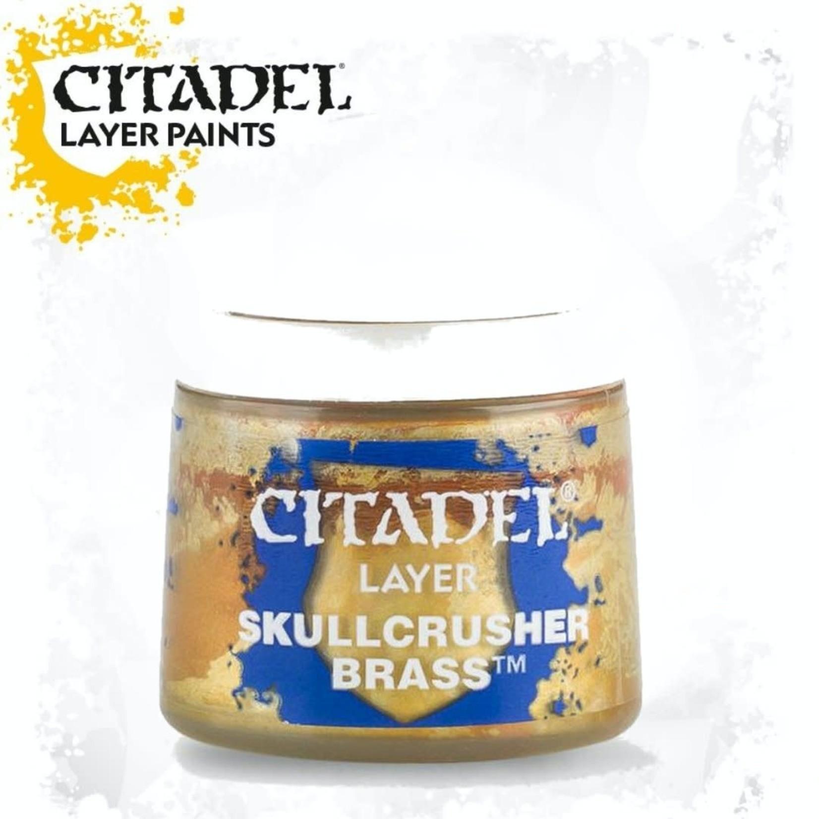 Citadel Citadel Paint - Layer: Skullcrusher Brass