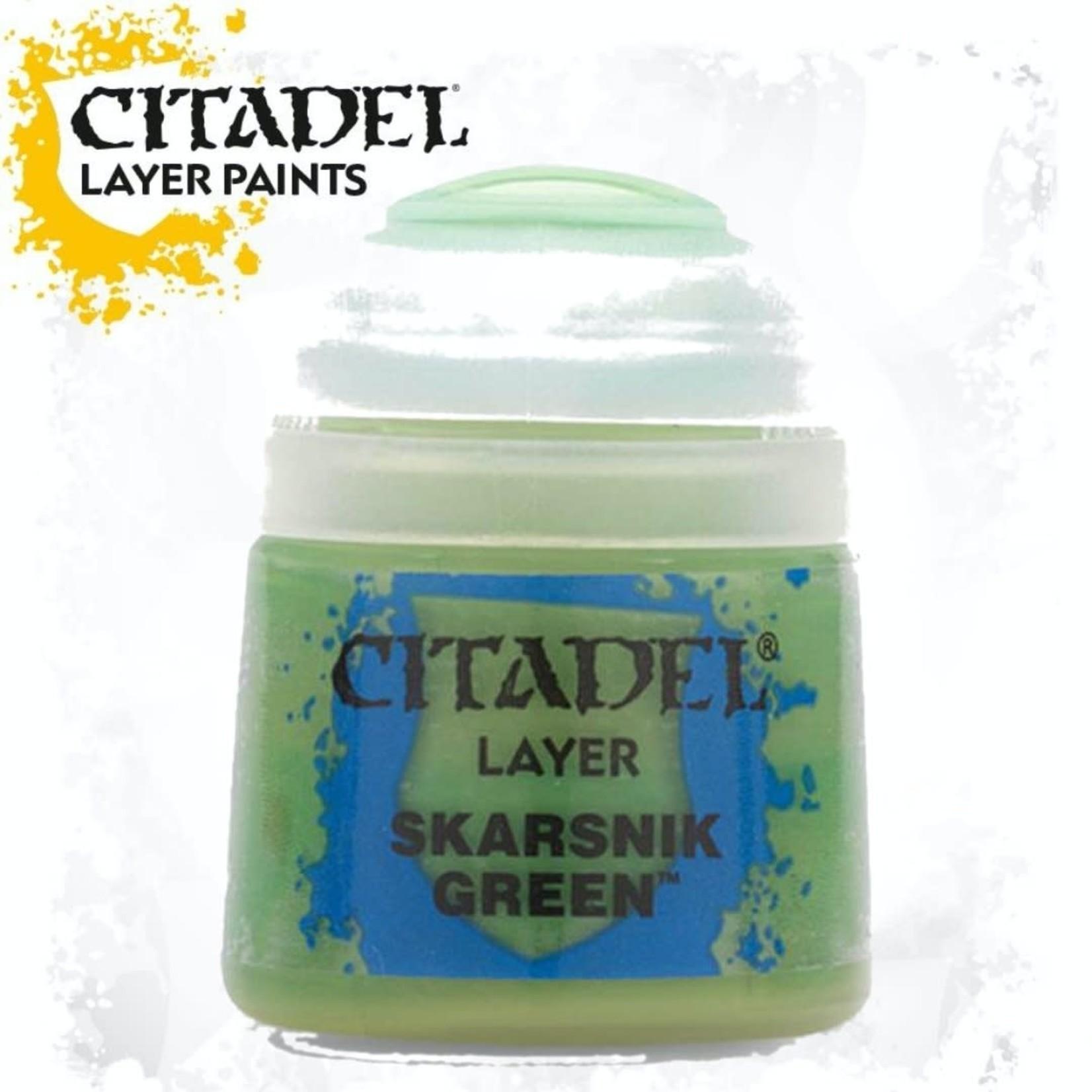 Citadel Citadel Paint - Layer: Skarsnik Green