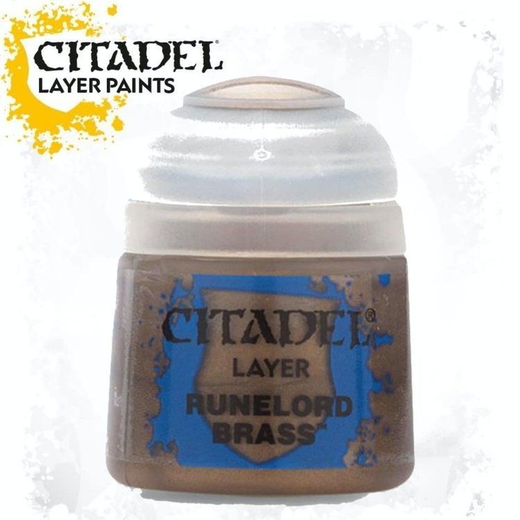 Citadel Citadel Paint - Layer: Runelord Brass
