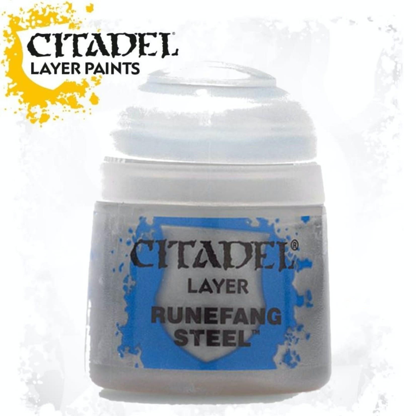 Citadel Citadel Paint - Layer: Runefang Steel