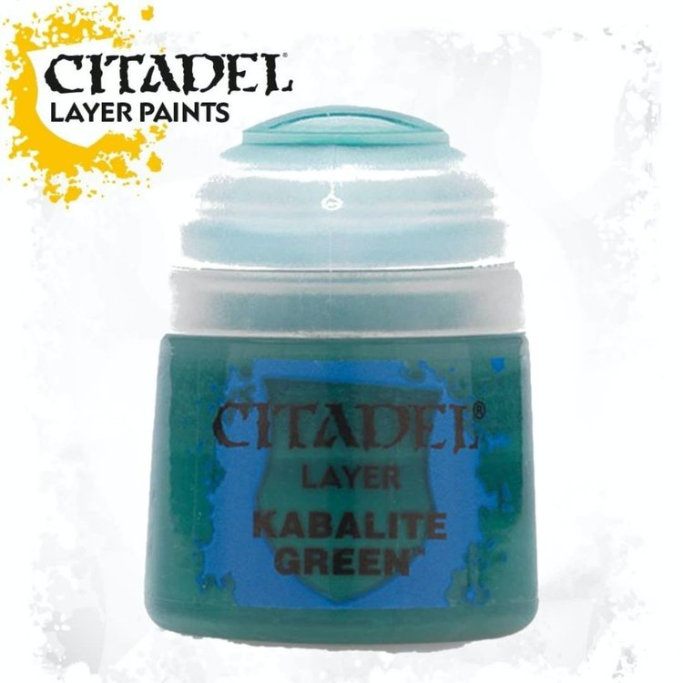 Citadel Citadel Paint - Layer: Kabalite Green
