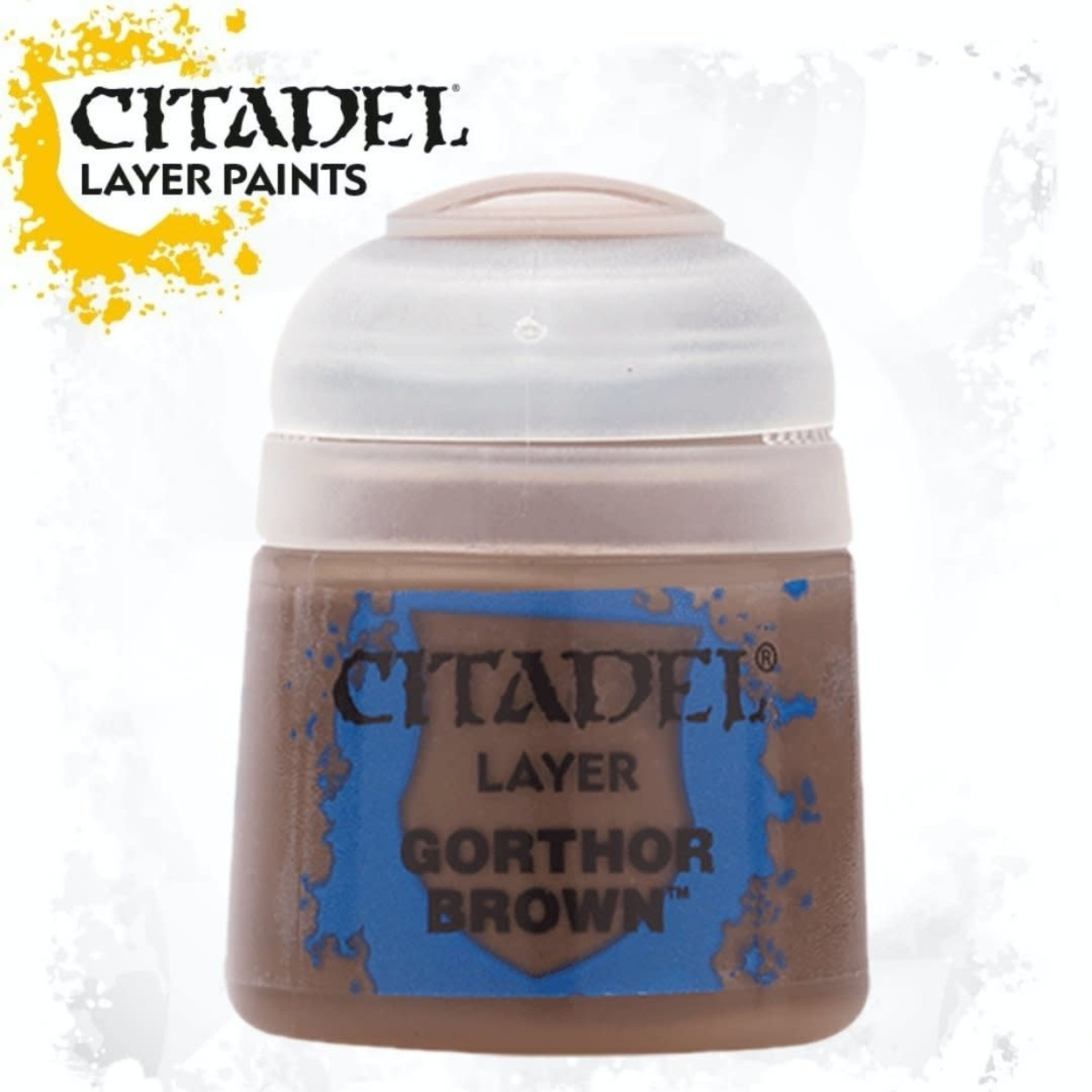 Citadel Citadel Paint - Layer: Gorthor Brown