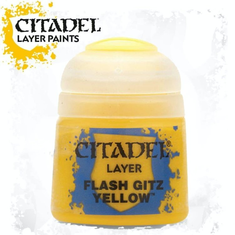 Citadel Citadel Paint - Layer: Flash Gitz Yellow