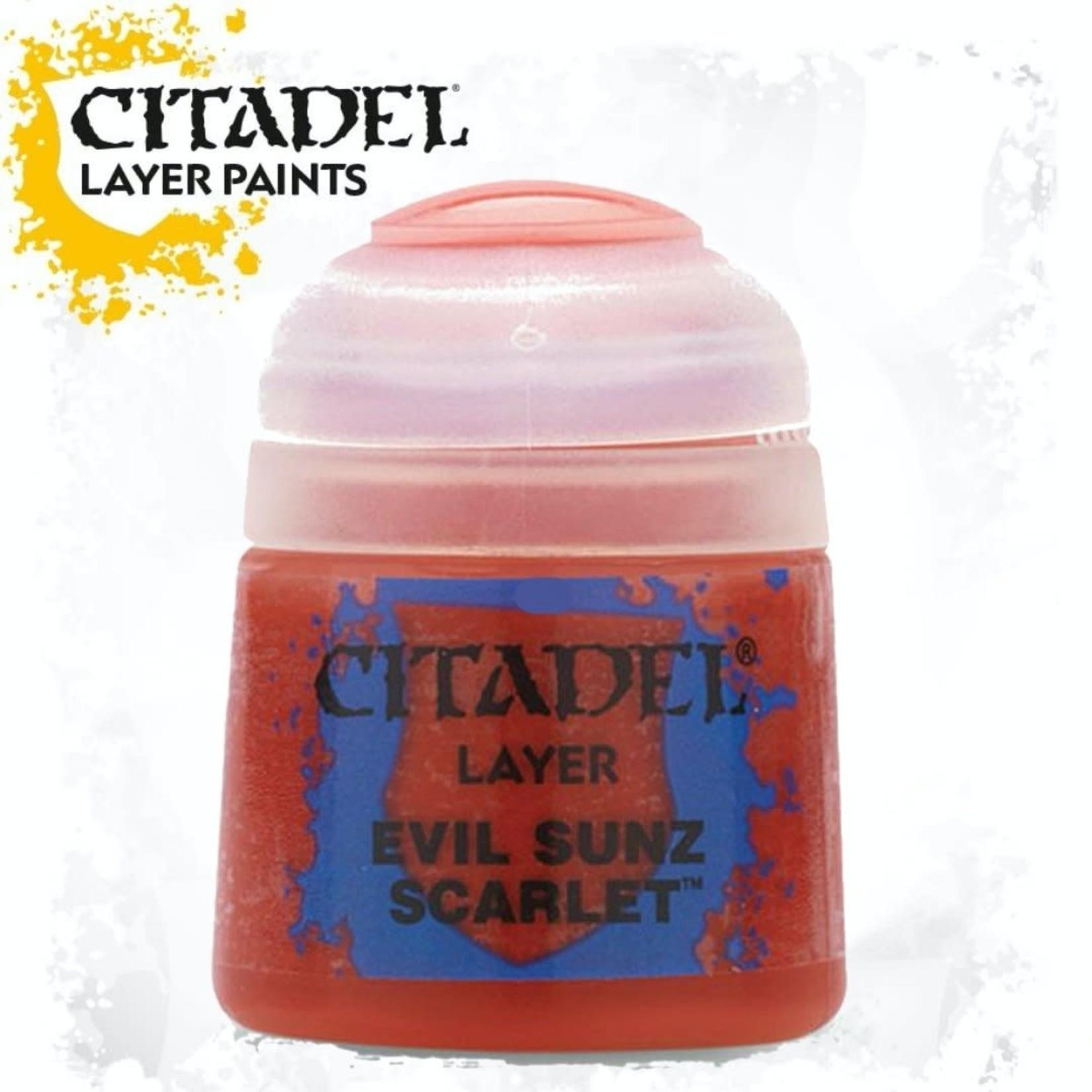 Citadel Citadel Paint - Layer: Evil Sunz Scarlet