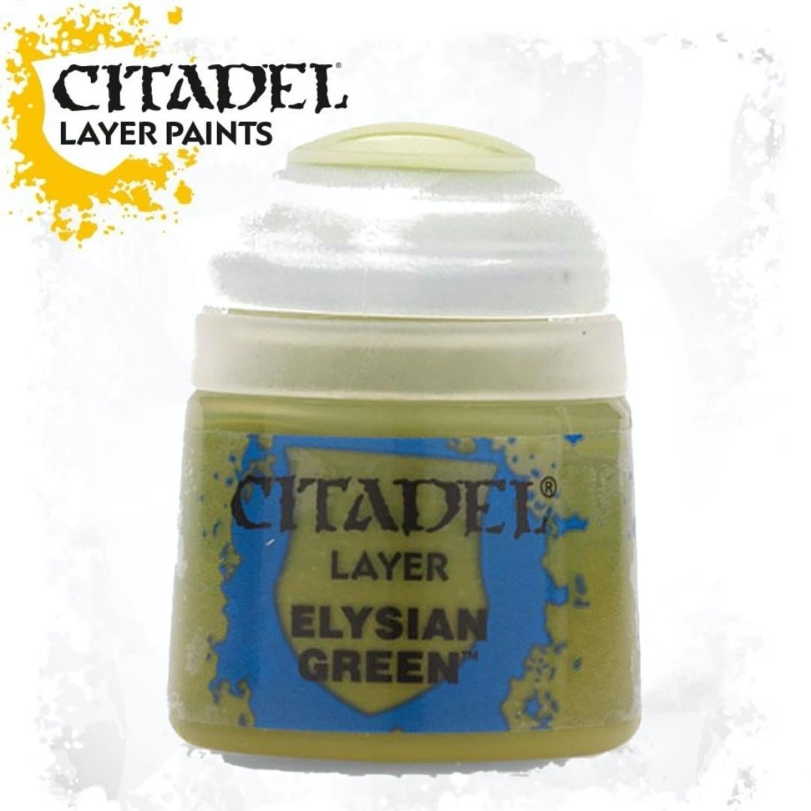 Citadel Citadel Paint - Layer: Elysian Green