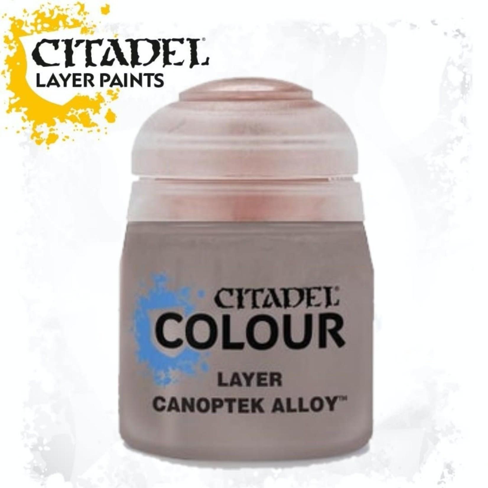 Citadel Citadel Paint - Layer: Canoptek Alloy